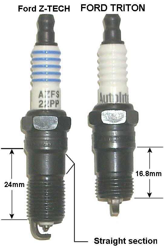 Ford Triton Head : Ford only spark plug thread repair kits time sert